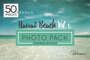50+ Hawaii Beach/Hi Res Photo Bundle