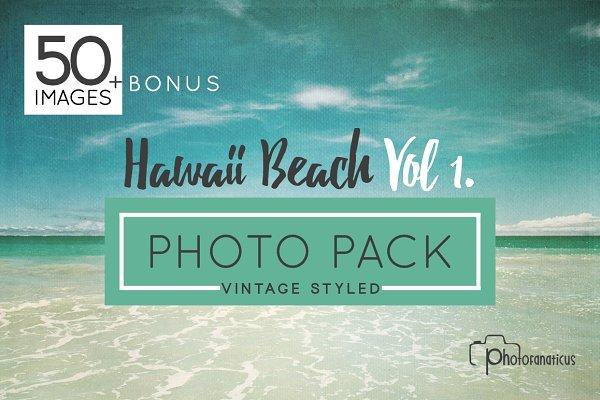 50+ Hawaii Beach/Hi Res Photo Bundl…