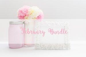 February MockUp Bundle