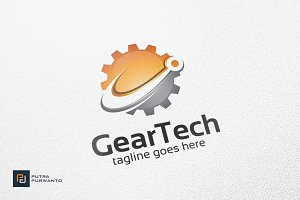 Gear Tech - Logo Template