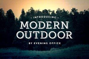 Modern Outdoor | Font