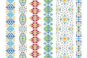 Color ethnic ornament