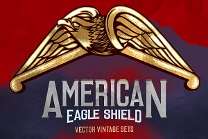 AMERICAN EAGLE SHIELD SETS