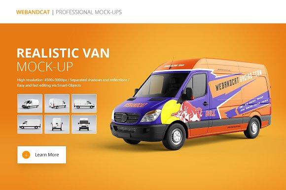Download Van Mock-Up