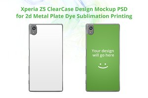 Xperia Z5 ClearCase Design Mock-up