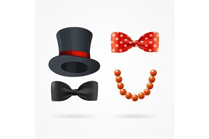 Gentleman and Lady Sign. Vector