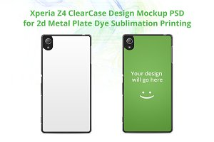 Xperia Z4 ClearCase Mock-up