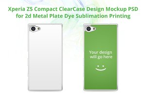 Xperia Z5 Compact ClearCase Mock-up