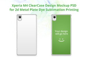 Xperia M4 ClearCase Design Mock-up