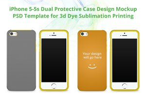 iPhone 5-5s Dual Protective Case Moc