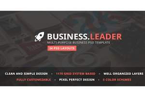 Business.Leader—Business PSD Theme