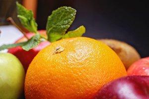 Macro fruit