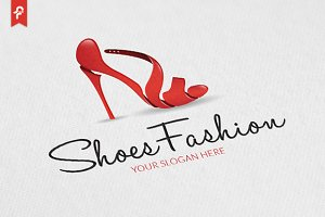 Shoes Fashion Logo