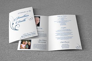 Funeral Program Template-T382
