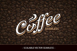Coffee Seamless Texture