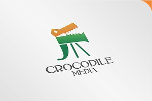 Crocodile Media - Logo