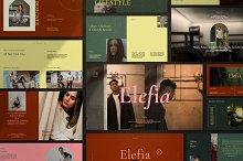 Elefia - New Brand Google Slide