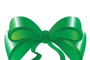 Green bow