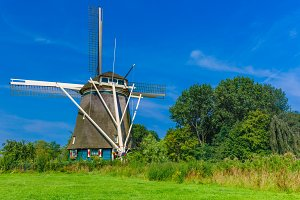 Windmill in Amsterdam