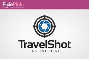 Travel Shot Logo Template