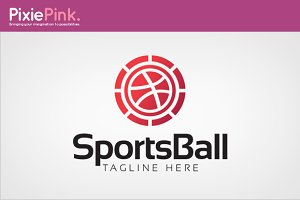 Sports Ball Logo Template
