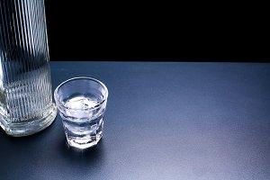 Vodka background