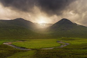 Glencoe mountains, Skye, Scotland