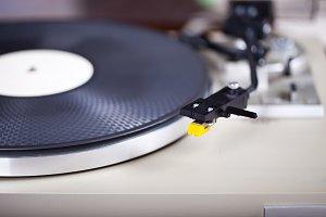 Hi-fi Turntable Vinyl Record Player