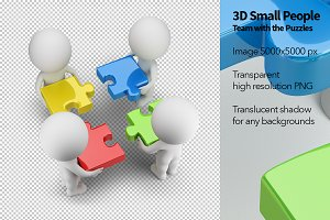 3D Small People - Puzzles
