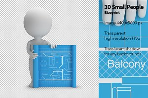 3D Small People - Blueprint