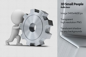 3D Small People - Rolls Gear
