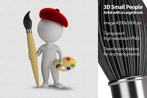 3D Small People - Artist