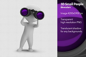 3D Small People - Binoculars