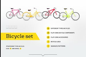 Bicycle set | 20 types bicycle