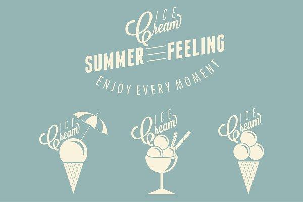 Ice Cream design.