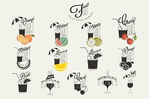 Symbols for Fruit Drinks