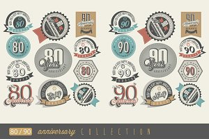 80th and 90 anniversary collection