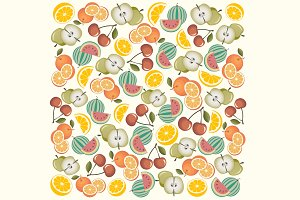 Illustrations fruits