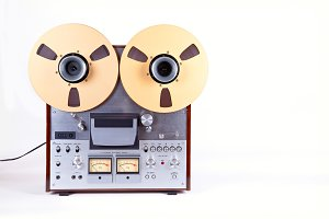 Open Reel Tape Deck Recorder