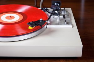 Turntable Vinyl Record Player