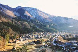 Shirakawago view