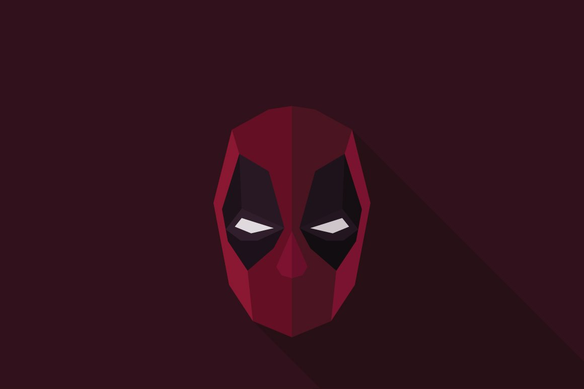 Deadpool Logo Templates Creative Market