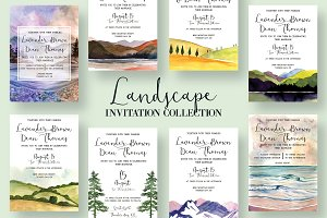 Landscape Invitation Collection