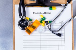 Medication Record for Patient