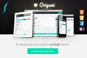 Origami - Responsive Vanilla2 Theme