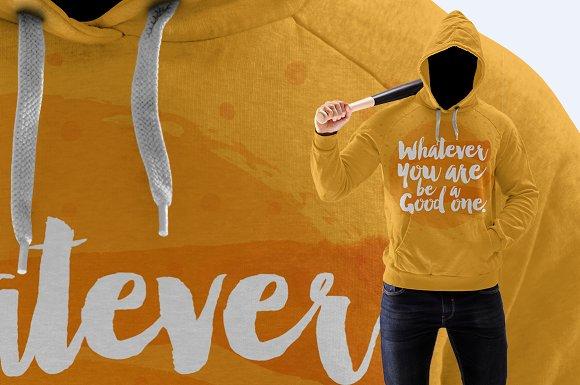 Download Dangerous Man Sweatshirt Mock-up