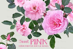 50% OFF Sweet Pink Roses