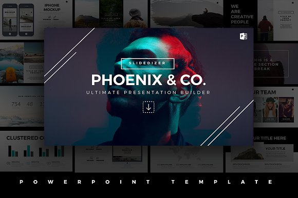 50 stunning presentation templates you wont believe are powerpoint phoenix minimal powerpoint template toneelgroepblik Choice Image