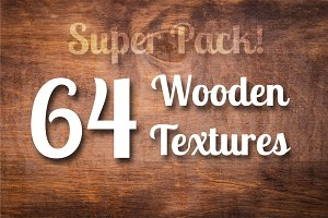 64 Wood Textures, Wooden Backgrounds