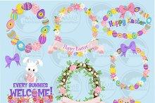 Easter Bunny Clipart AMB-1170